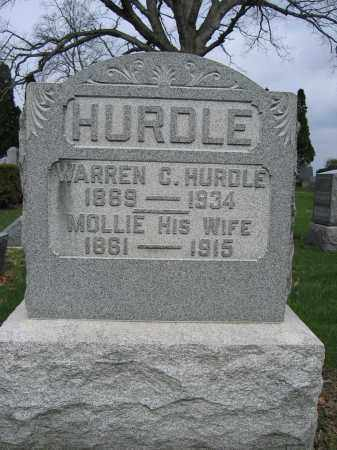 HURDLE, WARREN C - Union County, Ohio | WARREN C HURDLE - Ohio Gravestone Photos