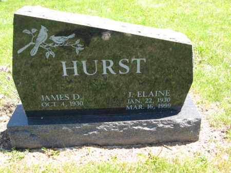 HURST, JAMES D. - Union County, Ohio | JAMES D. HURST - Ohio Gravestone Photos