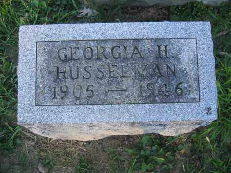 HUSSELMAN, GEORGIA H. - Union County, Ohio | GEORGIA H. HUSSELMAN - Ohio Gravestone Photos