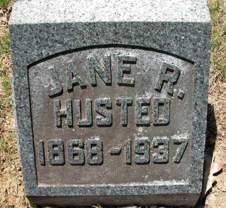 HUSTED, JANE R. - Union County, Ohio | JANE R. HUSTED - Ohio Gravestone Photos