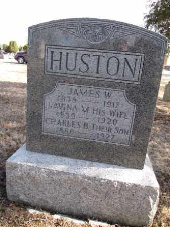 HUSTON, JAMES W. - Union County, Ohio | JAMES W. HUSTON - Ohio Gravestone Photos