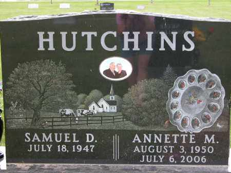 HUTCHINS, ANNETTE M. - Union County, Ohio | ANNETTE M. HUTCHINS - Ohio Gravestone Photos