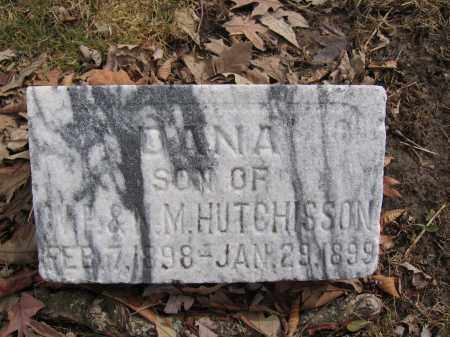 HUTCHISSON, DANA - Union County, Ohio | DANA HUTCHISSON - Ohio Gravestone Photos
