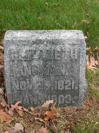 INGMAN, ELIZABETH - Union County, Ohio | ELIZABETH INGMAN - Ohio Gravestone Photos