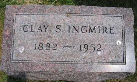 INGMIRE, CLAY S. - Union County, Ohio | CLAY S. INGMIRE - Ohio Gravestone Photos