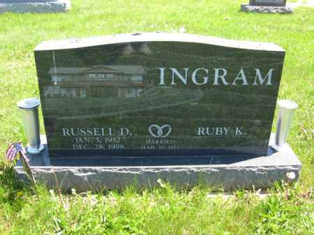 INGRAM, RUSSELL D. - Union County, Ohio | RUSSELL D. INGRAM - Ohio Gravestone Photos