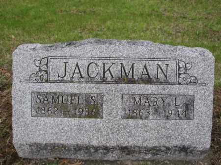 JACKMAN, MARY L. - Union County, Ohio | MARY L. JACKMAN - Ohio Gravestone Photos
