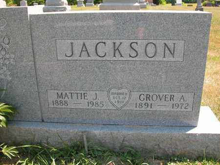 JACKSON, GROVER A. - Union County, Ohio | GROVER A. JACKSON - Ohio Gravestone Photos