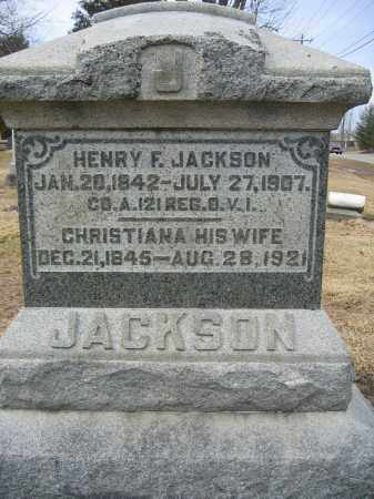 JACKSON, CHRISTIANA - Union County, Ohio | CHRISTIANA JACKSON - Ohio Gravestone Photos