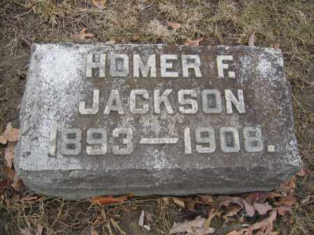 JACKSON, HOMER F. - Union County, Ohio | HOMER F. JACKSON - Ohio Gravestone Photos