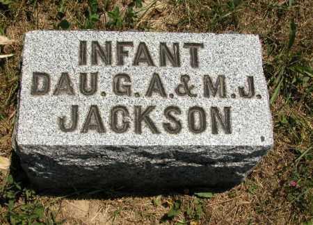 JACKSON, INFANT - Union County, Ohio | INFANT JACKSON - Ohio Gravestone Photos