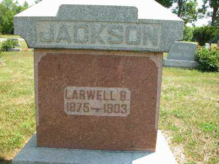 JACKSON, LARWELL B. - Union County, Ohio | LARWELL B. JACKSON - Ohio Gravestone Photos