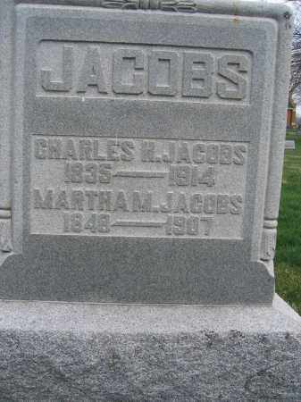 JACOBS, MARTHA M. - Union County, Ohio | MARTHA M. JACOBS - Ohio Gravestone Photos