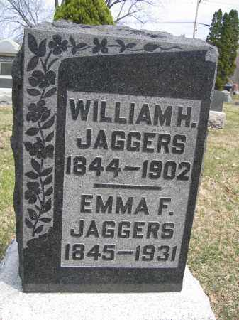 JAGGERS, WILLIAM H. - Union County, Ohio | WILLIAM H. JAGGERS - Ohio Gravestone Photos