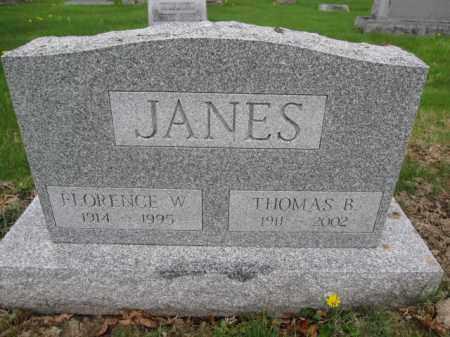 JANES, THOMAS B. - Union County, Ohio | THOMAS B. JANES - Ohio Gravestone Photos