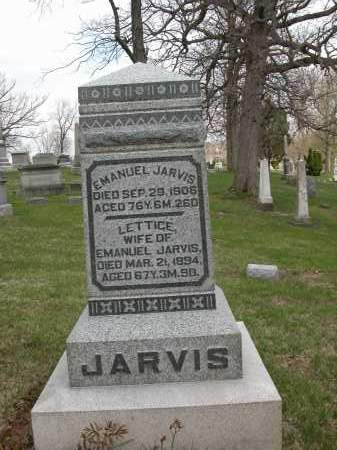 JARVIS, LETTICE - Union County, Ohio | LETTICE JARVIS - Ohio Gravestone Photos