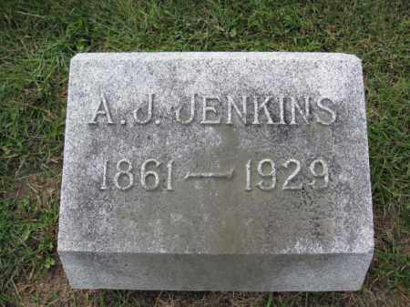 JENKINS, A.J. - Union County, Ohio | A.J. JENKINS - Ohio Gravestone Photos