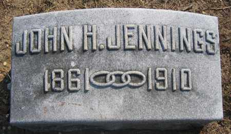 JENNINGS, JOHN H. - Union County, Ohio | JOHN H. JENNINGS - Ohio Gravestone Photos