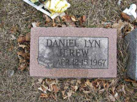 JEREW, DANIEL LYN - Union County, Ohio | DANIEL LYN JEREW - Ohio Gravestone Photos