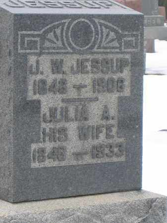 JESSUP, J.W. - Union County, Ohio | J.W. JESSUP - Ohio Gravestone Photos