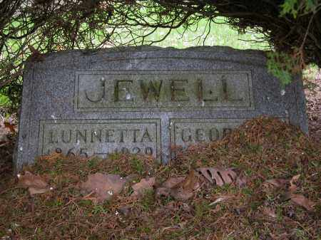 JEWELL, LUNNETTA - Union County, Ohio | LUNNETTA JEWELL - Ohio Gravestone Photos