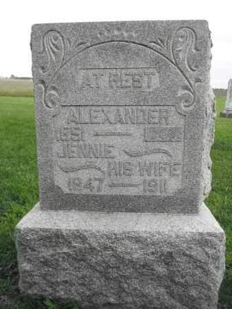 JOHNSON, ALEXANDER - Union County, Ohio | ALEXANDER JOHNSON - Ohio Gravestone Photos