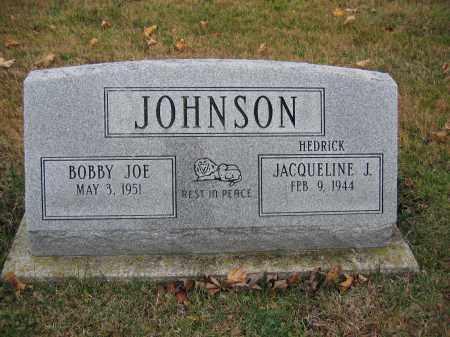 JOHNSON, BOBBY JOE - Union County, Ohio | BOBBY JOE JOHNSON - Ohio Gravestone Photos