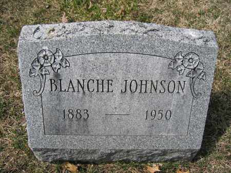JOHNSON, BLANCHE - Union County, Ohio | BLANCHE JOHNSON - Ohio Gravestone Photos