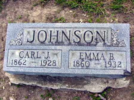 HAWLEY JOHNSON, EMMA - Union County, Ohio | EMMA HAWLEY JOHNSON - Ohio Gravestone Photos