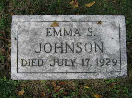 JOHNSON, EMMA S. - Union County, Ohio | EMMA S. JOHNSON - Ohio Gravestone Photos