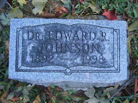 JOHNSON, EDWARD R. - Union County, Ohio | EDWARD R. JOHNSON - Ohio Gravestone Photos