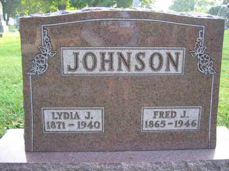 JOHNSON, LYDIA J. - Union County, Ohio | LYDIA J. JOHNSON - Ohio Gravestone Photos
