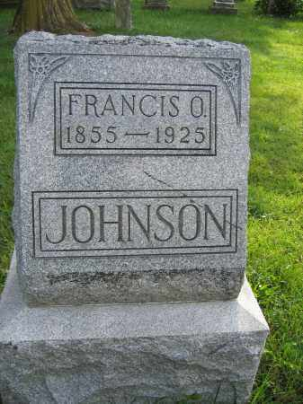 JOHNSON, FRANCIS O. - Union County, Ohio | FRANCIS O. JOHNSON - Ohio Gravestone Photos