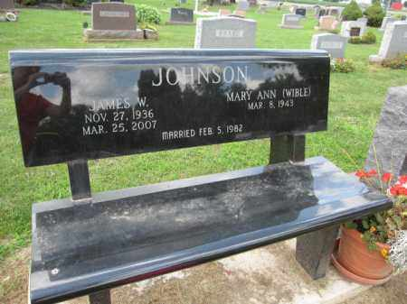 JOHNSON, MARY ANN WIBLE - Union County, Ohio | MARY ANN WIBLE JOHNSON - Ohio Gravestone Photos