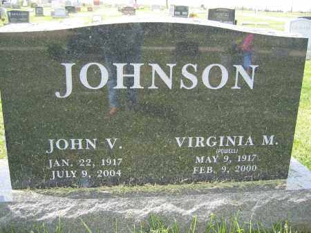 JOHNSON, VIRGINIA M. - Union County, Ohio | VIRGINIA M. JOHNSON - Ohio Gravestone Photos