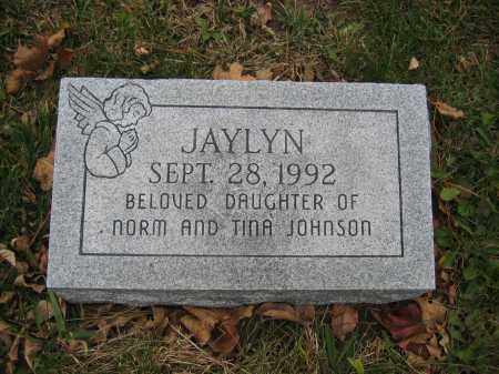 JOHNSON, JAYLYN - Union County, Ohio | JAYLYN JOHNSON - Ohio Gravestone Photos