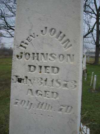 JOHNSON, JOHN, REV. - Union County, Ohio | JOHN, REV. JOHNSON - Ohio Gravestone Photos