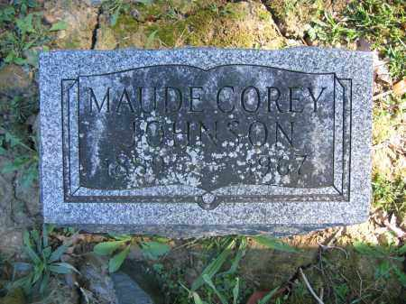 JOHNSON, MAUDE COREY - Union County, Ohio | MAUDE COREY JOHNSON - Ohio Gravestone Photos
