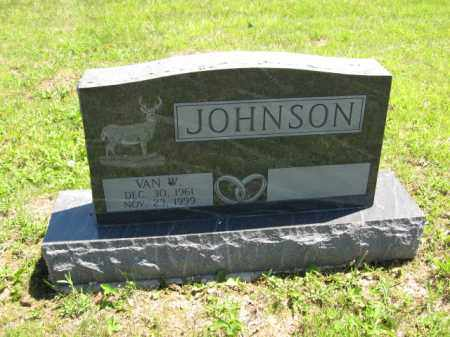 JOHNSON, VAN W. - Union County, Ohio | VAN W. JOHNSON - Ohio Gravestone Photos