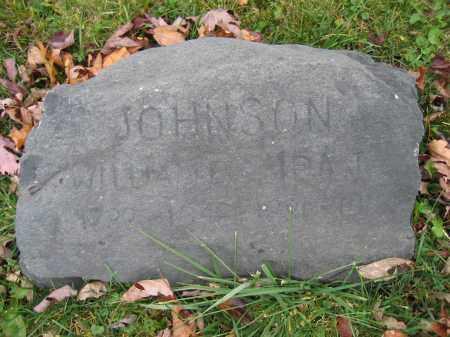 JOHNSON, WILLIAM E. - Union County, Ohio | WILLIAM E. JOHNSON - Ohio Gravestone Photos
