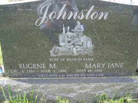 JOHNSTON, MARY JANE - Union County, Ohio | MARY JANE JOHNSTON - Ohio Gravestone Photos