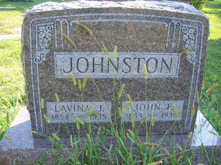 JOHNSTON, LAVINA J. - Union County, Ohio | LAVINA J. JOHNSTON - Ohio Gravestone Photos