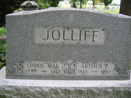 JOLLIFF, LINNIE MAE - Union County, Ohio | LINNIE MAE JOLLIFF - Ohio Gravestone Photos