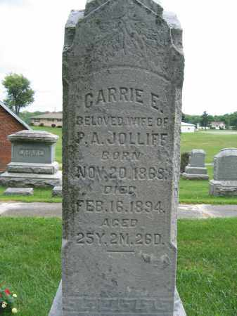 JOLLIFF, CARRIE E. - Union County, Ohio | CARRIE E. JOLLIFF - Ohio Gravestone Photos