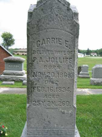 JOLLIFF, CARRIE E. - Union County, Ohio | CARRIE E. JOLLIFF - Ohio Gravestone Photos
