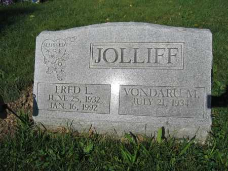 JOLLIFF, FRED L. - Union County, Ohio | FRED L. JOLLIFF - Ohio Gravestone Photos