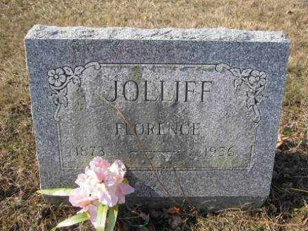 JOLLIFF, FLORENCE - Union County, Ohio | FLORENCE JOLLIFF - Ohio Gravestone Photos