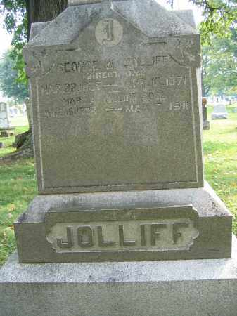 JOLLIFF, GEORGE W. - Union County, Ohio | GEORGE W. JOLLIFF - Ohio Gravestone Photos