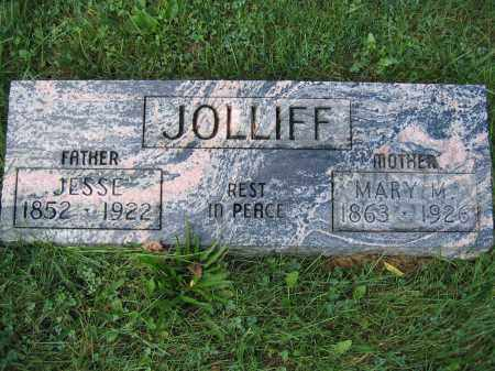 JOLLIFF, JESSE - Union County, Ohio | JESSE JOLLIFF - Ohio Gravestone Photos