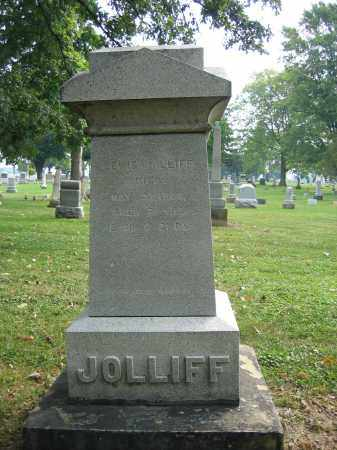GATES, HANNAH JOLLIFF - Union County, Ohio | HANNAH JOLLIFF GATES - Ohio Gravestone Photos